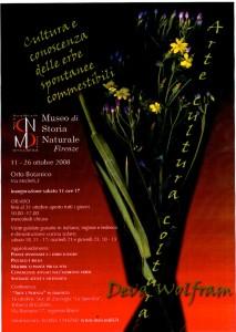 invito orto botanico Firenze 2008
